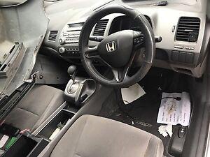 Wrecking Honda Civic FD silver with spoiler b3 Holroyd Parramatta Area Preview