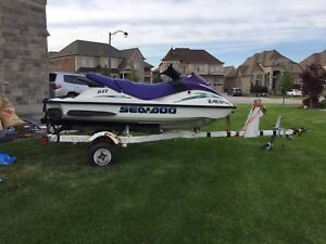 2002 Seadoo GTI w Trailer...Serious offers only!