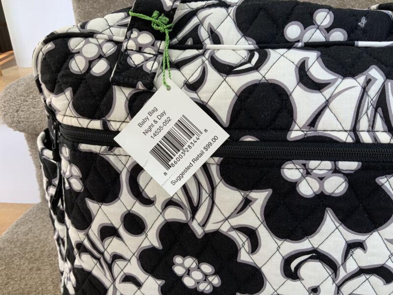 Vera Bradley Baby Diaper Bag Night & Day