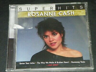 Rosanne Cash-super Hits - CD - NEW-SEALED-LAST ONE-WITH FREE BOOK Super Hits Music Book