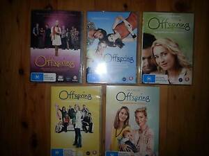 Offspring DVDs Seasons 1-5 Rankin Park Newcastle Area Preview