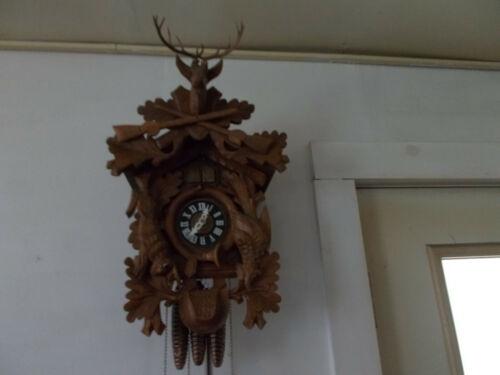 QUAIL CUCKOO CLOCK (SEE VIDEO)