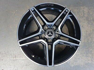 7,5 x 18 ET49 Original Mercedes AMG Alufelge C W177 CLA C118 A1774011500 Black