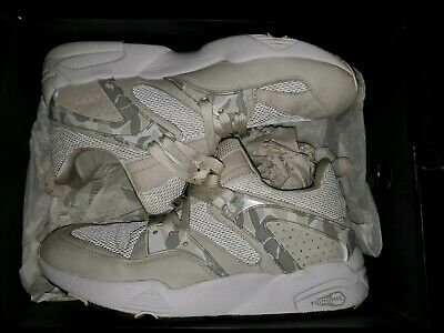 "Puma Blaze of Glory x Bape ""White Camo"" - A Bathing Ape - Size 11 - 358844 01"