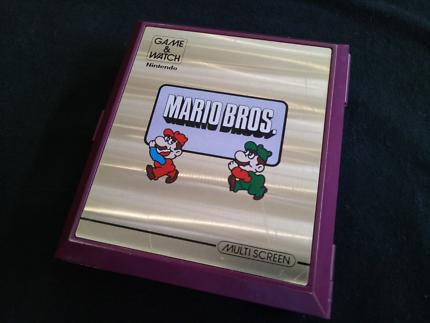 Nintendo Game and Watch MARIO BROS
