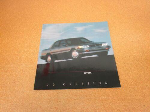 1990 Toyota Cressida sales brochure 20 page dealer literature ORIGINAL
