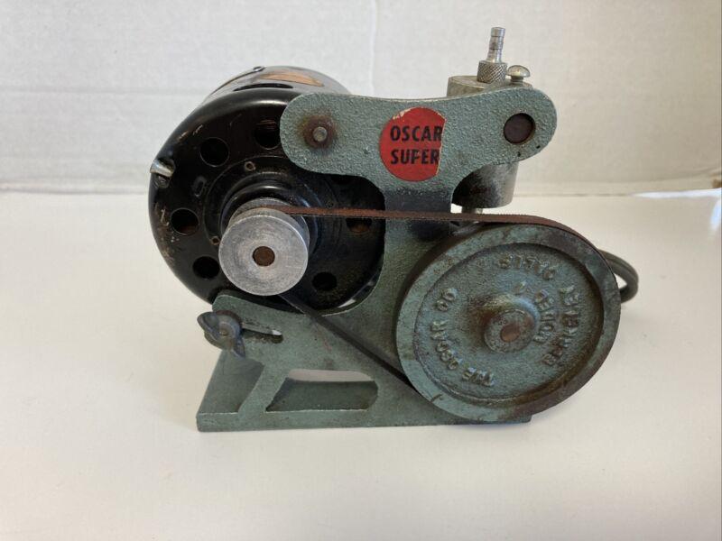 Vintage Oscar Company Model 3365 Air Aquarium Pump w/ Redmond Motor. Working.