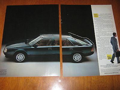 Renault 25 V6 injection advert