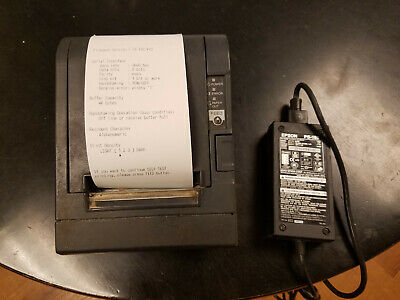 Epson Tm-t88iii M129c Thermal Receipt Printer With Ps-180 Power Supply