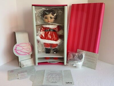 NEW NEVER REMOVED FROM BOX MARIE OSMOND ADORA MINNIE HOLIDAY BELLE DOLL COA #182