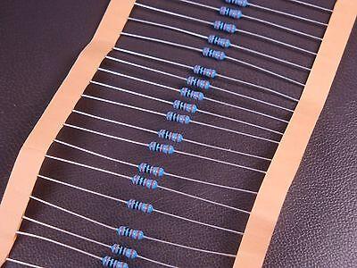 Lot Of 40 Mfr-25frf-1k00 Yageo Metal Film Resistor 1k 1000 Ohm 1 250mw 14w Nos