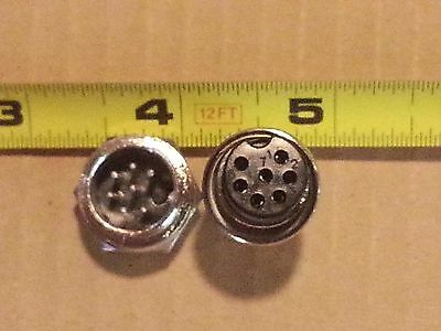 Tig Welding - Plasma Cutter - 7 Pin Large Connector Plug Panel Mount Socket