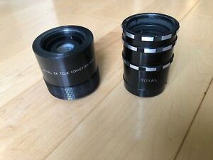Royal 3x Tele Zoom Converter plus Macro Spacers M42