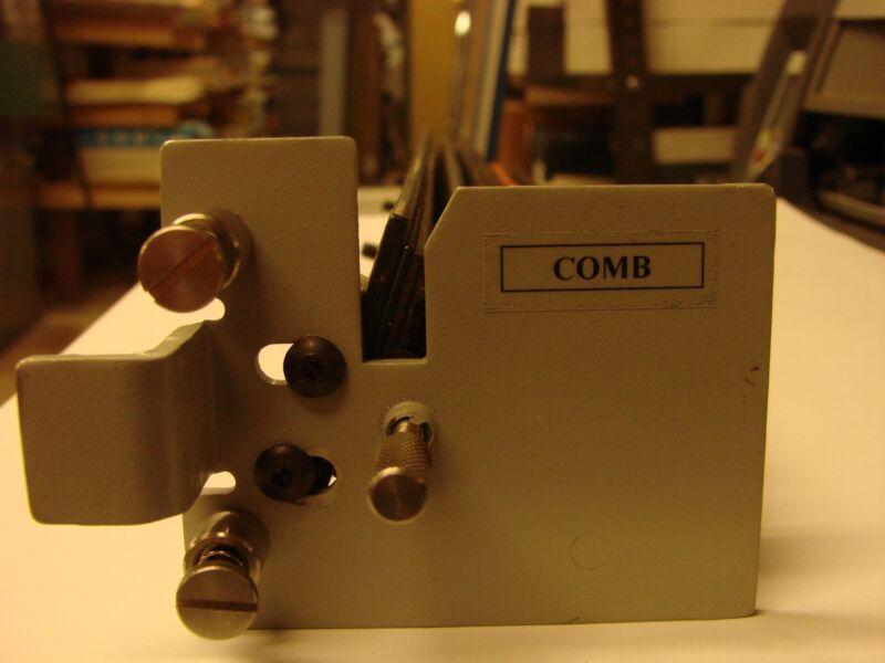 Comb Punch Die Unknown brand