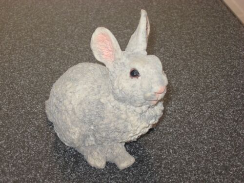 Albert E Price Products 1992 Resin Bunny Rabbit Figurine Super Cute-Hard to Find