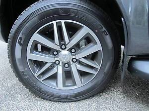 "2016 Toyota 18"" alloy rims and Dunlop Grandtrek PT tyres Brinsmead Cairns City Preview"