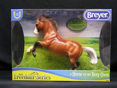 """Breyer Freedom Series Silver Bay Mustang Horse """"A Horse Of My Very Own"""" #947"""