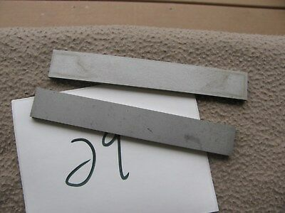 Pair Starrett 384 Parallels Parallel 6 X 78 X 316 Machinist Toolmaker Tool