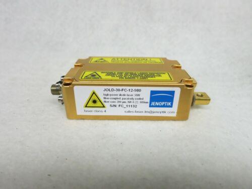 Jenoptik JOLD-30-FC-12 30W Fiber Coupled High Power Diode Laser