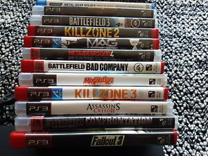 Ps3 console. Games.  Headset