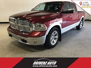 2015 RAM 1500 Laramie CLEAN CARPROOF, LOADED LARAMIE, AIR SUS...