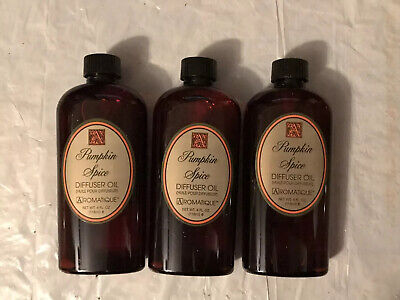 New Lot 3 Aromatique Pumpkin Spice Reed Diffuser 4 Ounce Oil Refills With Reeds Spice Reed Diffuser Oil