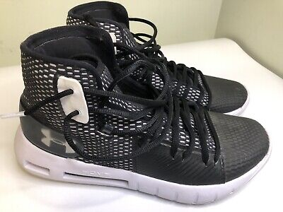 CLEAN! Under Armour HOVR Havoc Mens Black Basketball Shoes Mens Size 7.5 High