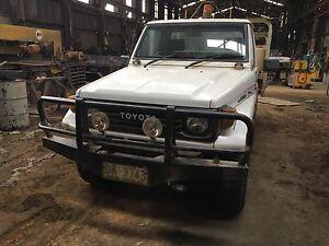 1992 Toyota LandCruiser Ute PUBLIC AUCTION. Queenstown West Coast Area Preview