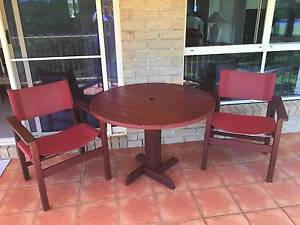 Outdoor Table & 2 Chairs - Australian Garden Furniture Maroochydore Maroochydore Area Preview
