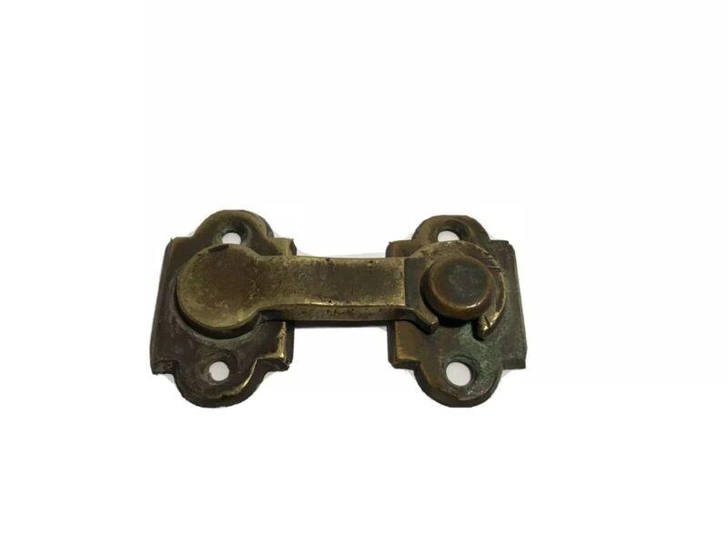 Antique Brass Latch Door Or Cupboard Latch