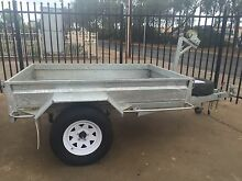 7x5 Manual Winch Tipper Galvanised Trailer Para Hills West Salisbury Area Preview