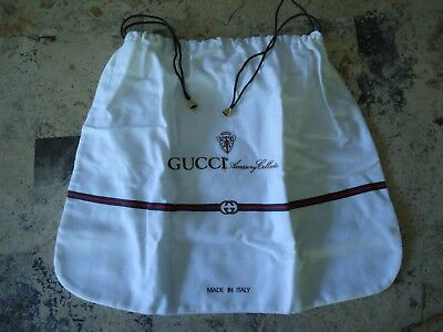 """Gucci Accessory Collection Dust Bag 17"""" x 13"""" Never Used"""