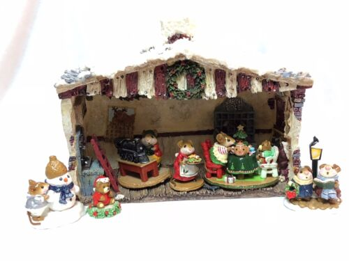 Christmas Winter House Display for Wee Forest Folk WFF not Included