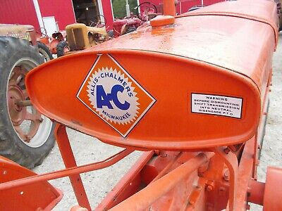 Unstyled Allis Chalmers Wc Tractor Repainted Gas Tank W Cap Sediment Bowl