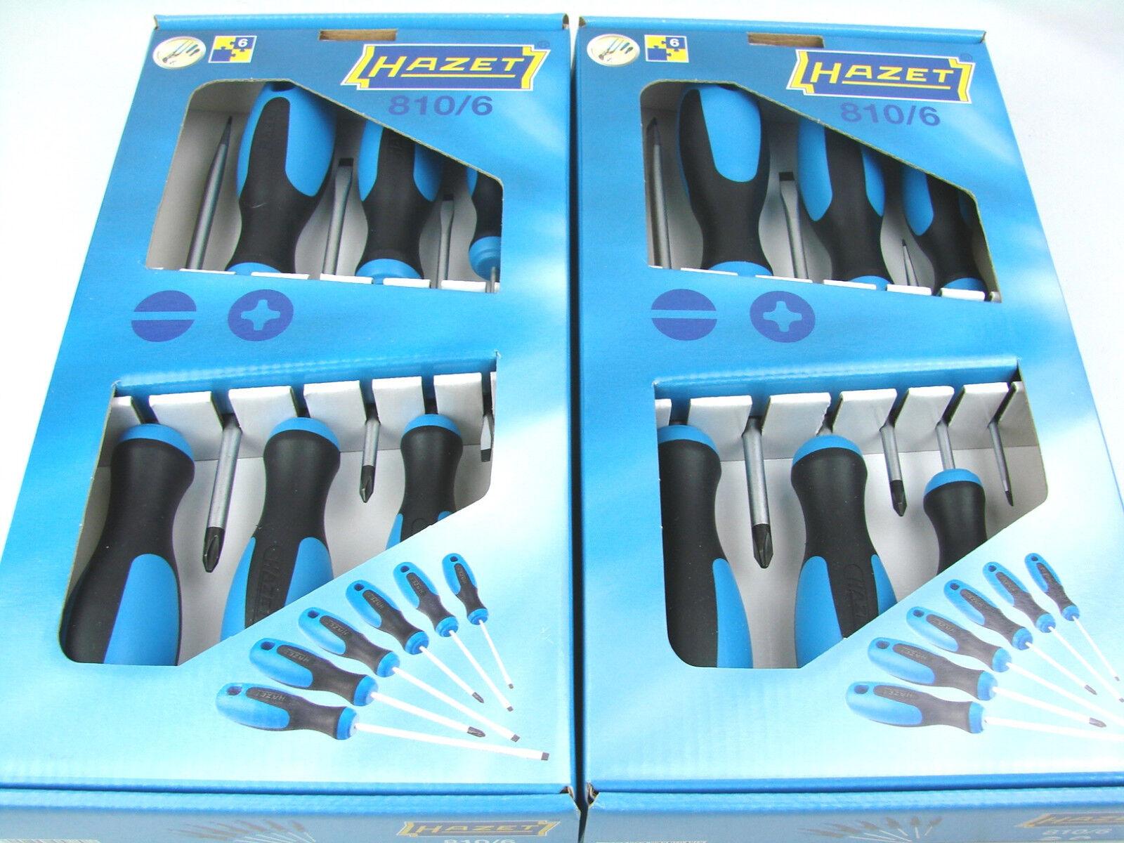 HAZET 810T//6 Schraubendreher Satz TORX® Innen-Torx-Profil Schraubenzieher Set 6