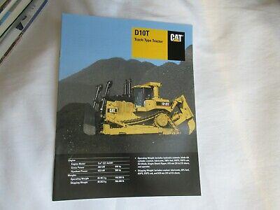 Cat Caterpillar D10t Track-type Tractor Brochure