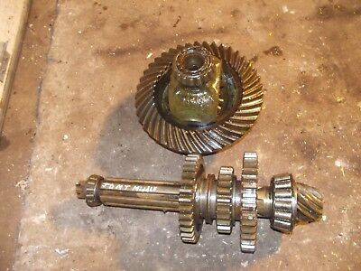 John Deere Mt Tractor Jd Set Transmission Ring Pinion Drive Gears Gear Shaft