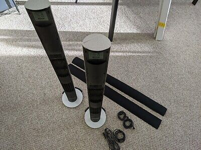 *** Bang & Olufsen B&O BeoLab 6000 Powered Speakers PAIR w/ Power Cords ***
