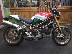2008 Ducati Monster S4RS Tricolore (collectors edition)