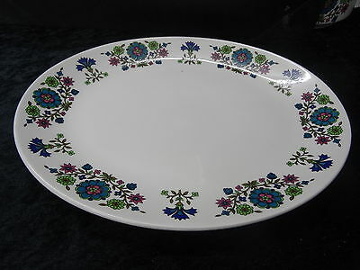 C1960's Midwinter Country Garden Oval Serving/Meat Plate - 30x24cm