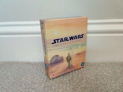 Star Wars Saga (2011 Blu-ray) Replacement Box Only