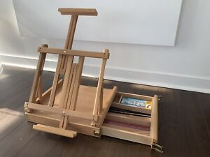 Curry's portable sketch box table easel - painting, drawing