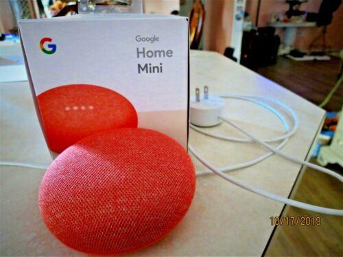 Google Home Mini in Pink