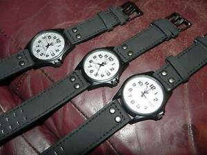 3 HIGH QUALITY BRAND NEW FIELD WATCHES (JAPANESE MOVEMENTS)