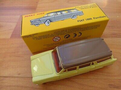 Repro Box Dinky Nr.548 Fiat 1800 Familiale