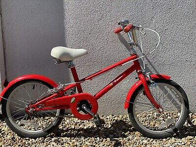 "Bobbin Sparrow Kids Boys Girls Age 4-6 Years 16"" Wheel Retro Bike Red!"