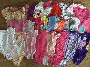 Massive lot of baby girl 3-6 month clothing!