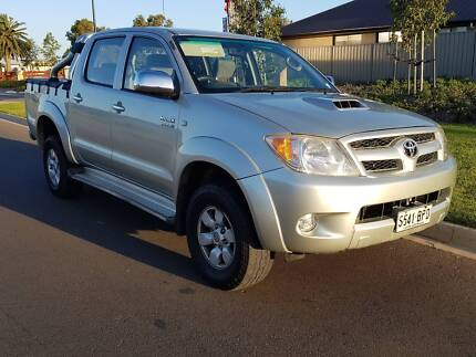2006 TOYOTA HILUX SR5 AUTOMATIC 3.0L 4X4 DIESEL TURBO DUAL CAB Adelaide CBD Adelaide City Preview