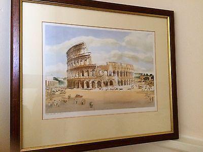 Colosseum Ltd Edition Print By Welsh Artist Simon Jones, Painted For BT