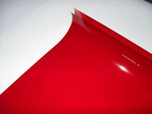 106 PRIMARY RED LIGHTING FILTER GEL THEATRE DJ CLUB LED DISCO 24cm X 24cm PAR 64